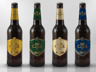 Castle Beer Bottle
