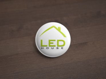 Sign LED House